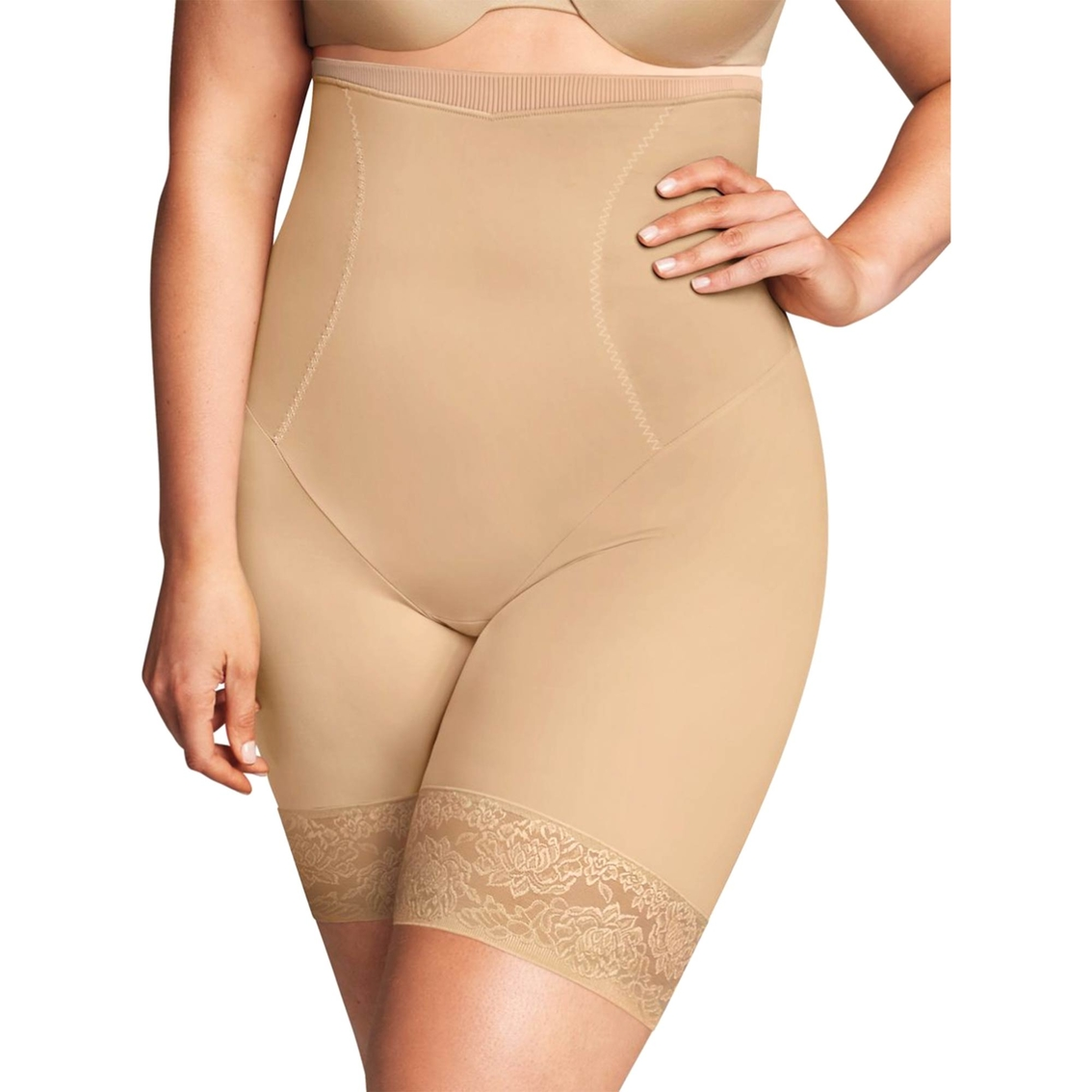 7d3202153a8 Maidenform Shapewear Curvy Firm High-waist Thigh Slimmer