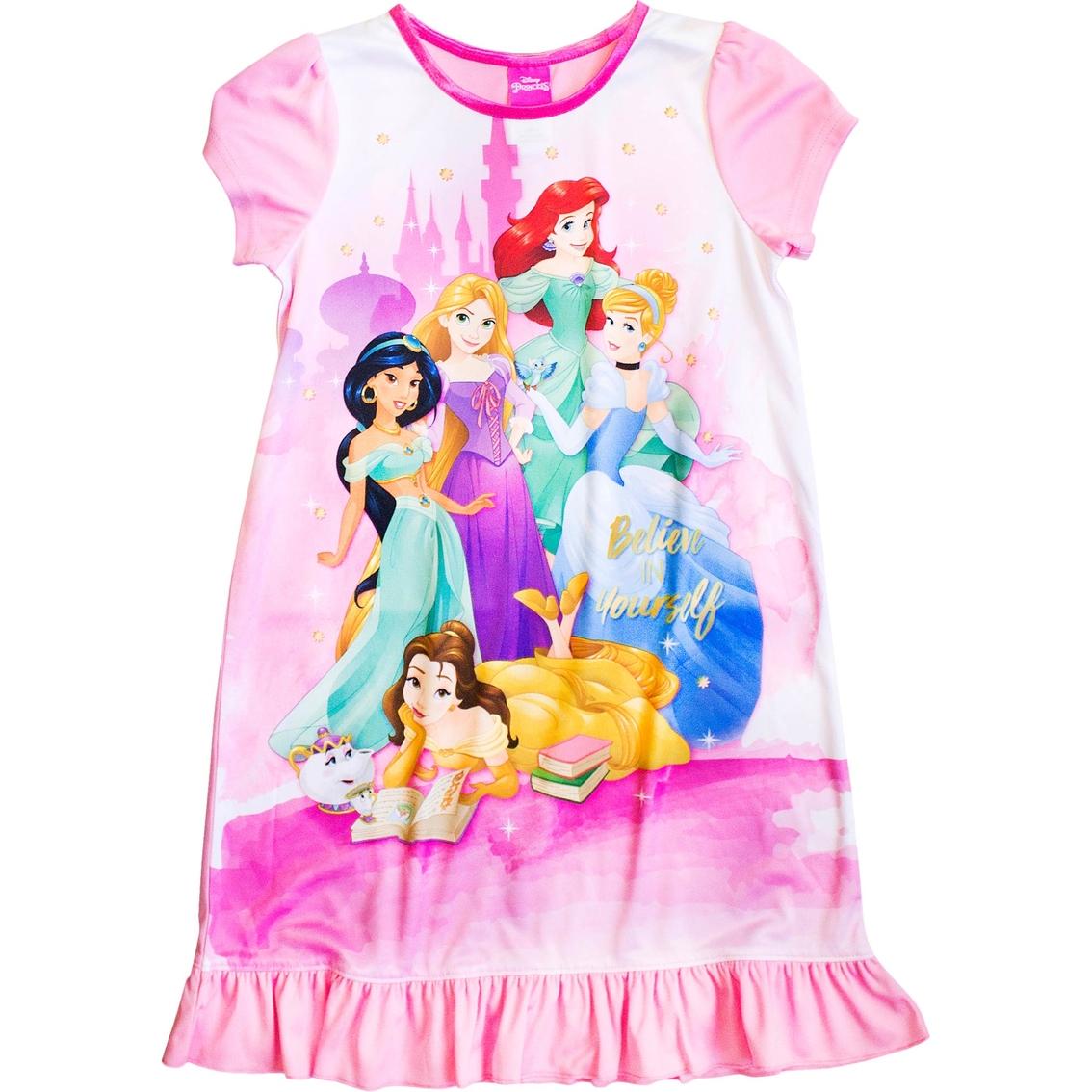 Disney Princesses Girl Nightgown, Size 8 | Girls 7-16 | Apparel ...