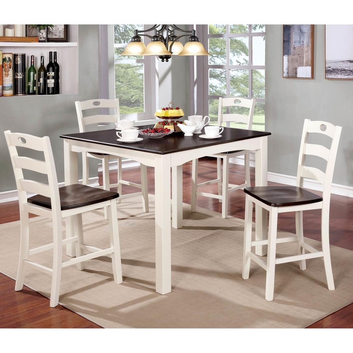 Furniture Of America Liliana 5 Pc. Pub Dining Set