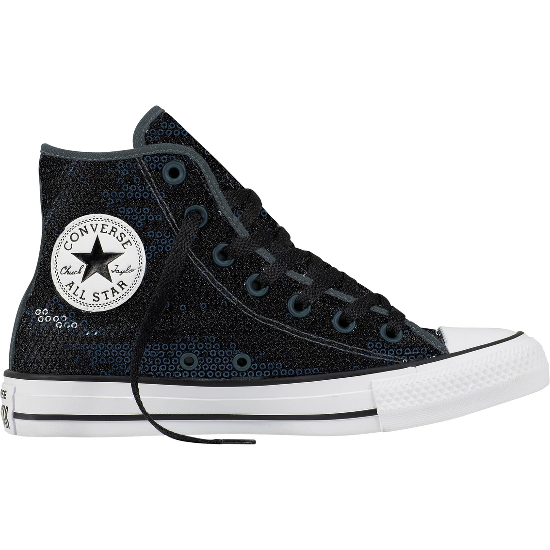 efd04ef46488 Converse Chuck Taylor All Star Women s Sequin High Top Sneakers ...