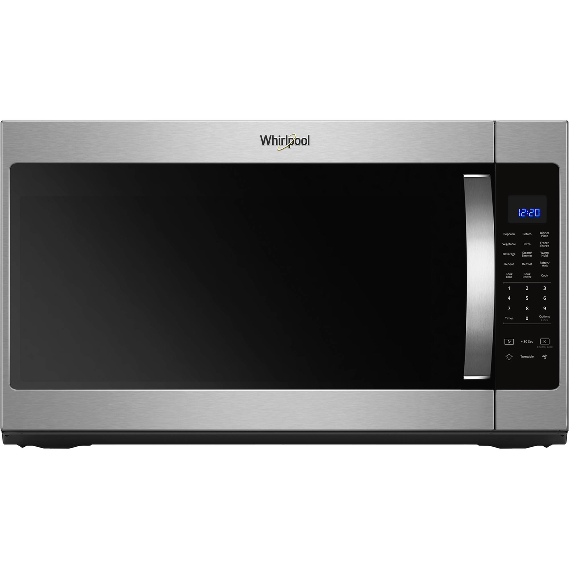Whirlpool 2 1 Cu Ft Over The Range Microwave Hood