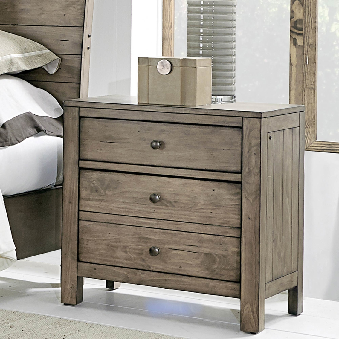 Aspenhome Tildon 2 Drawer Nightstand Nightstands Home