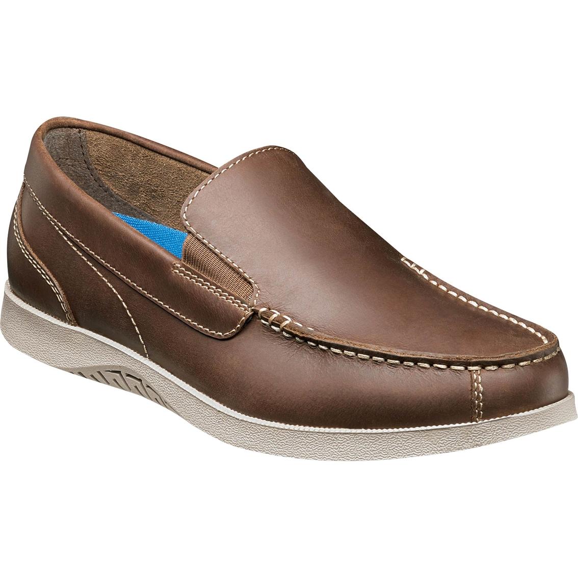 Nunn Bush Bayside Lites Moc Toe Venetian Casual Slip On Shoes sXw6dTl