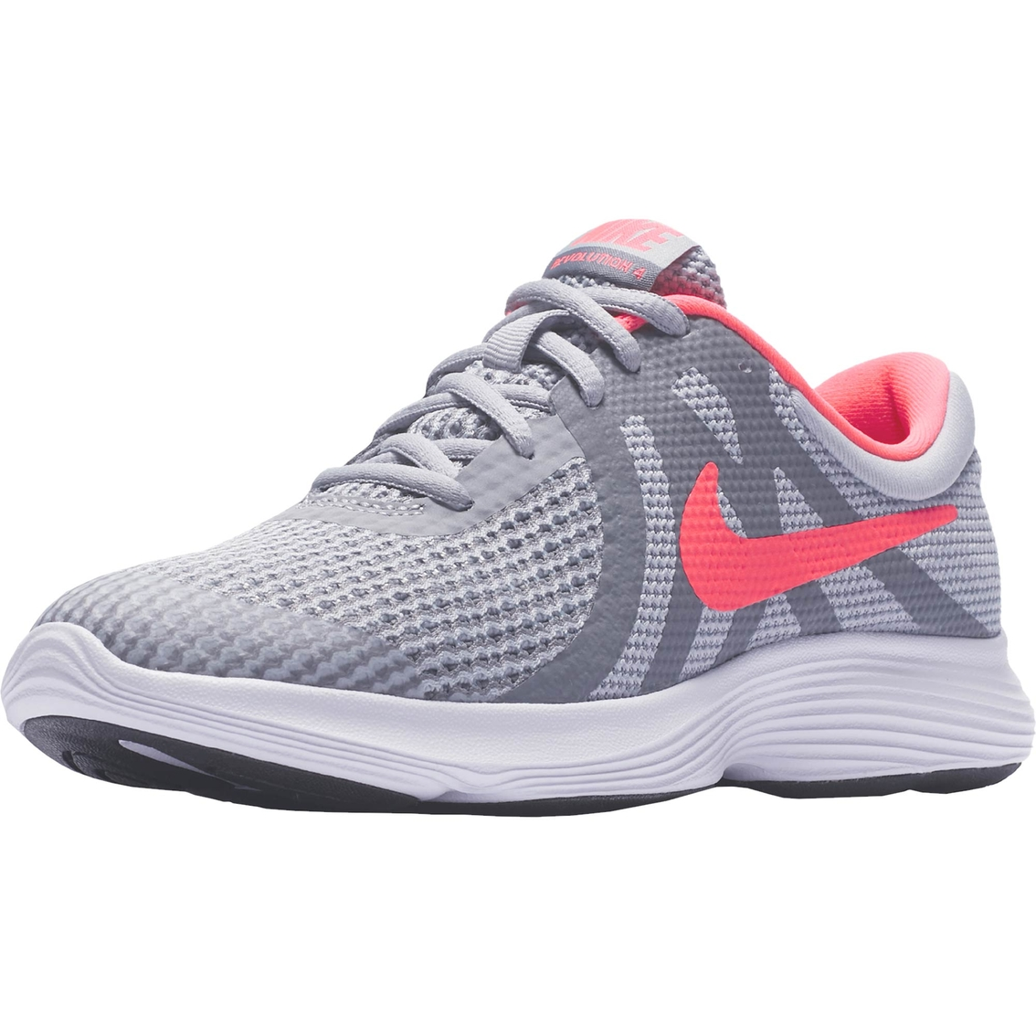 729fc57deb5a4 Nike Girls Revolutions 4 Grade School Running Shoes