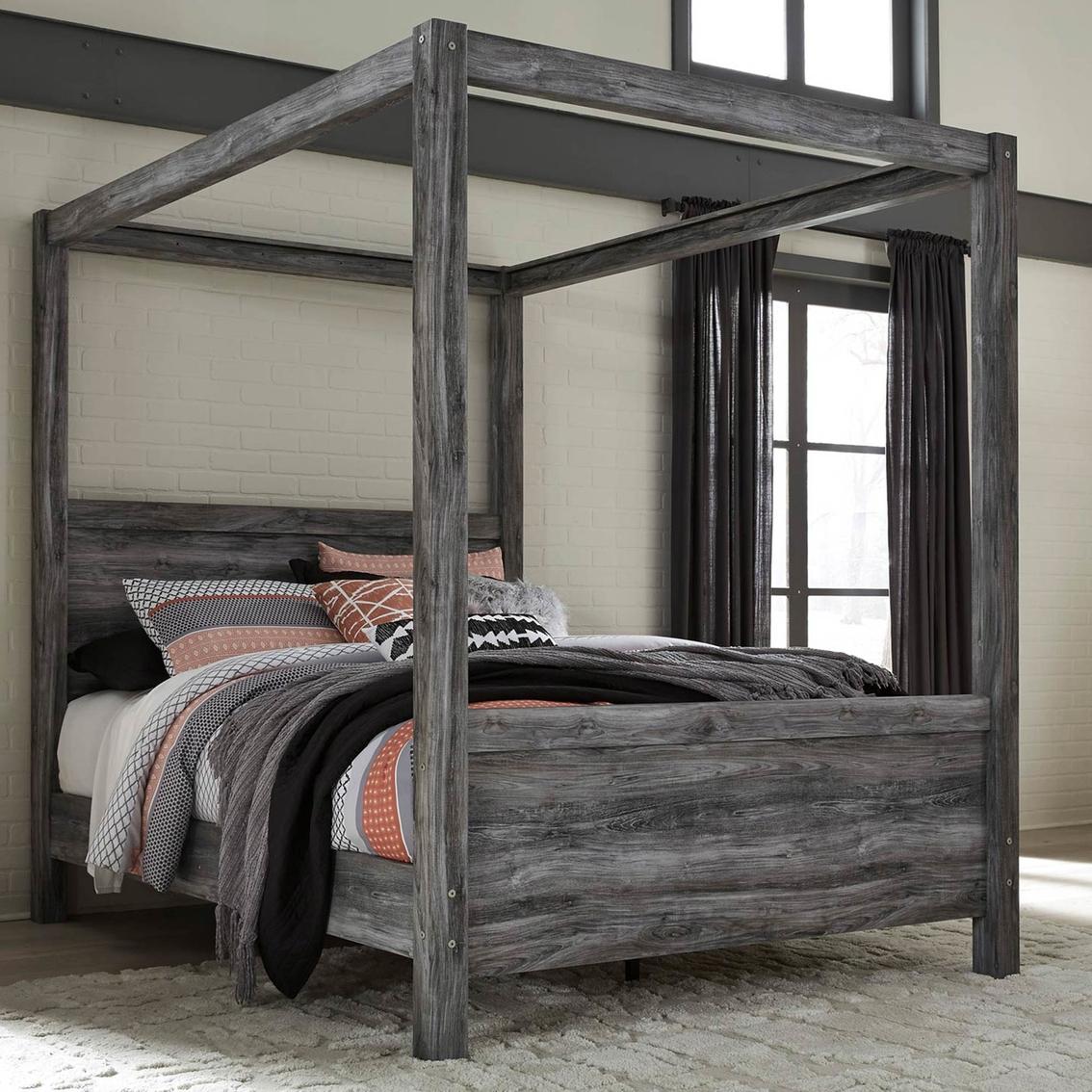 90a0e1d1d9c1 Signature Design By Ashley Baystorm Canopy Bed