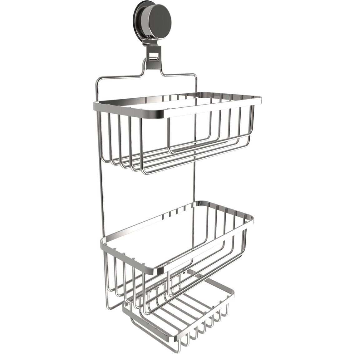 Lavish Home Wall Mount 3 Tier Shower Caddy | Tub & Shower ...