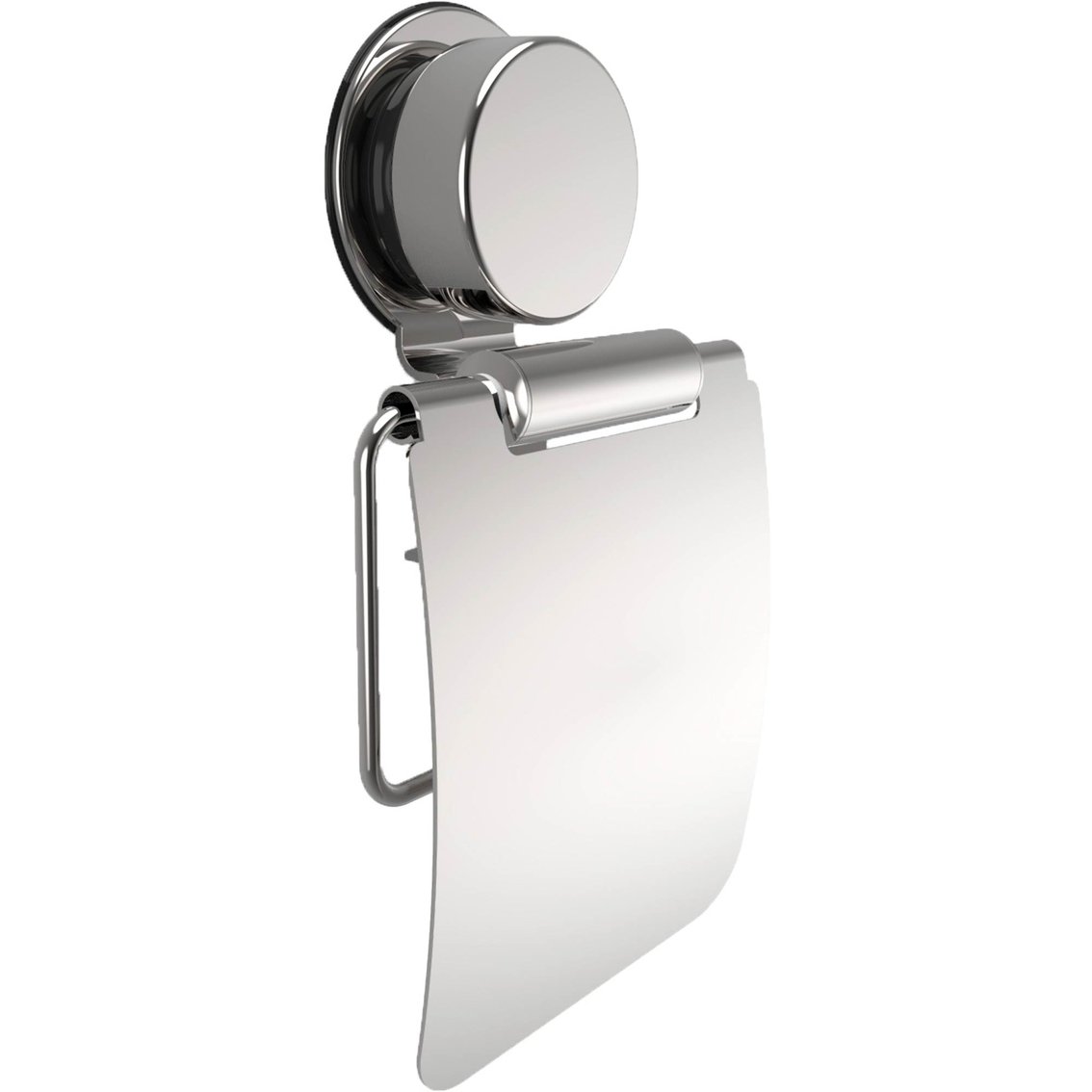 Lavish Home Wall Mount Toilet Paper Holder With Flap | Tub & Shower ...