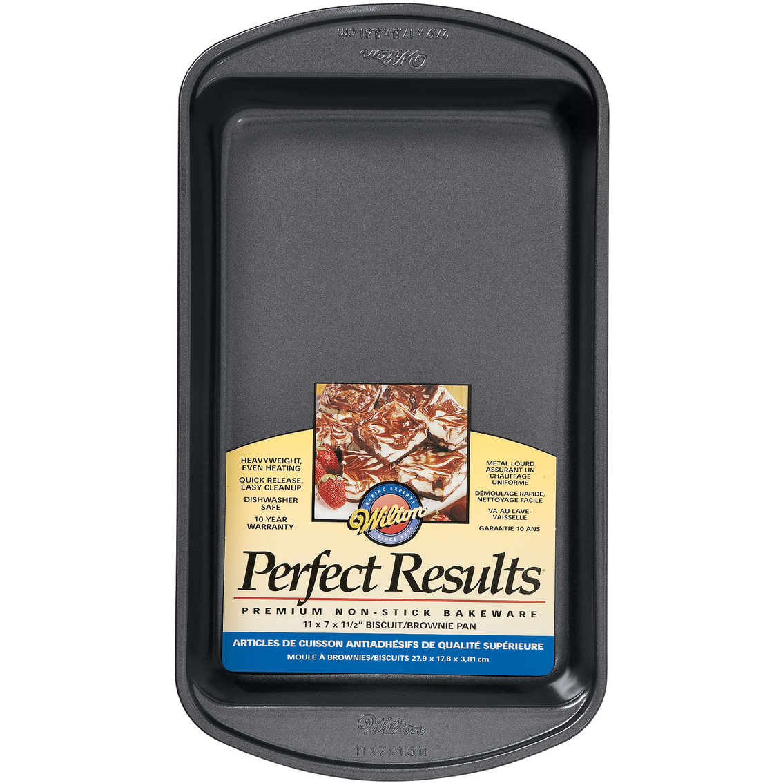 Wilton 11 X 7 X 1 5 Brownie Pan Baking Pans Home