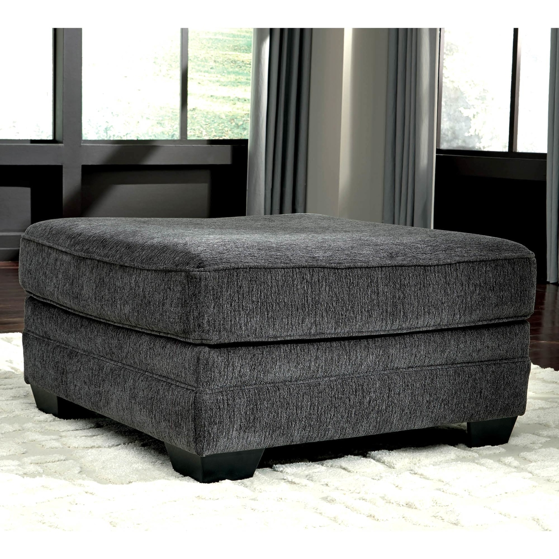 Peachy Benchcraft Tracling Oversized Ottoman Ottomans Home Uwap Interior Chair Design Uwaporg