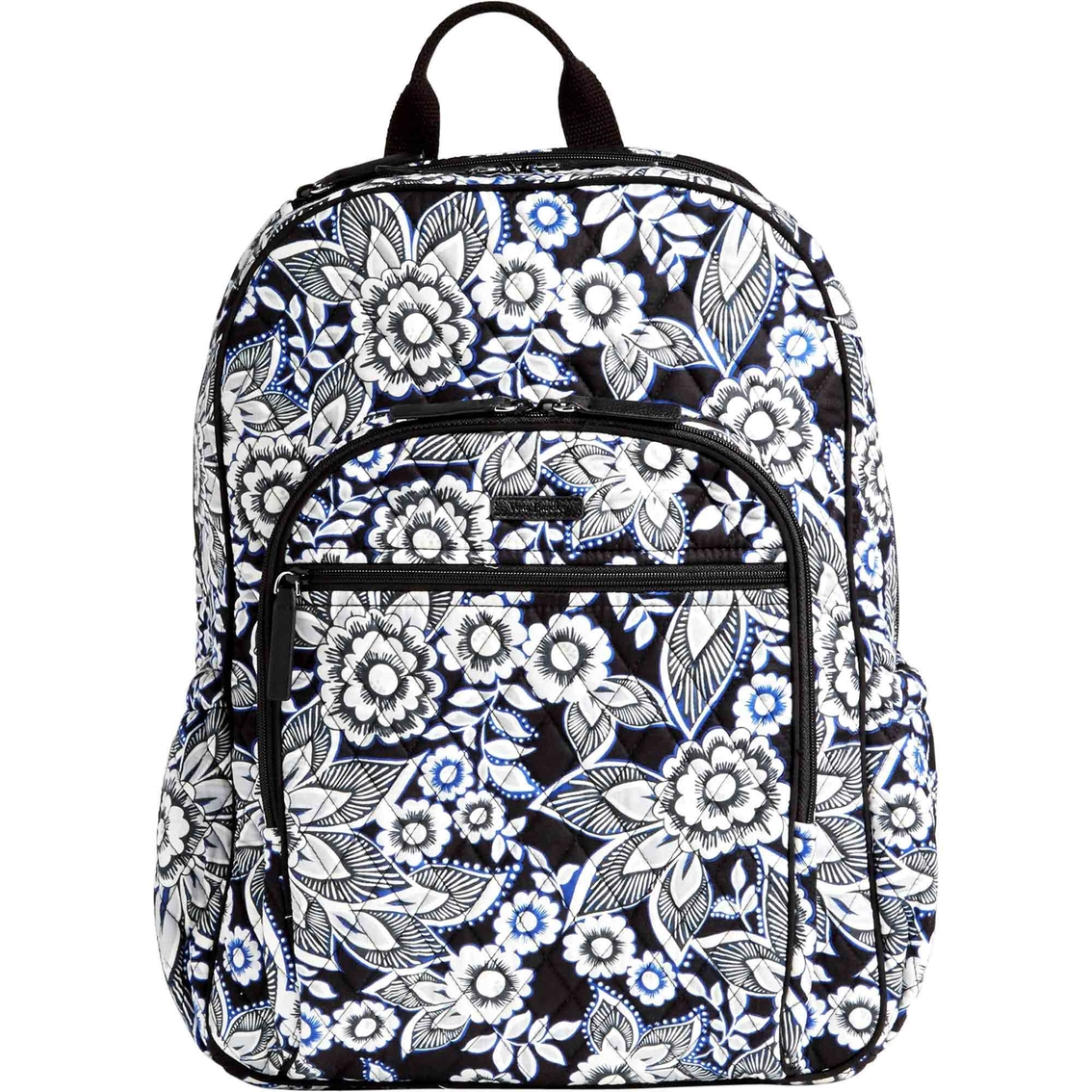 760d2185bd Vera Bradley Campus Tech Backpack Snow Lotus