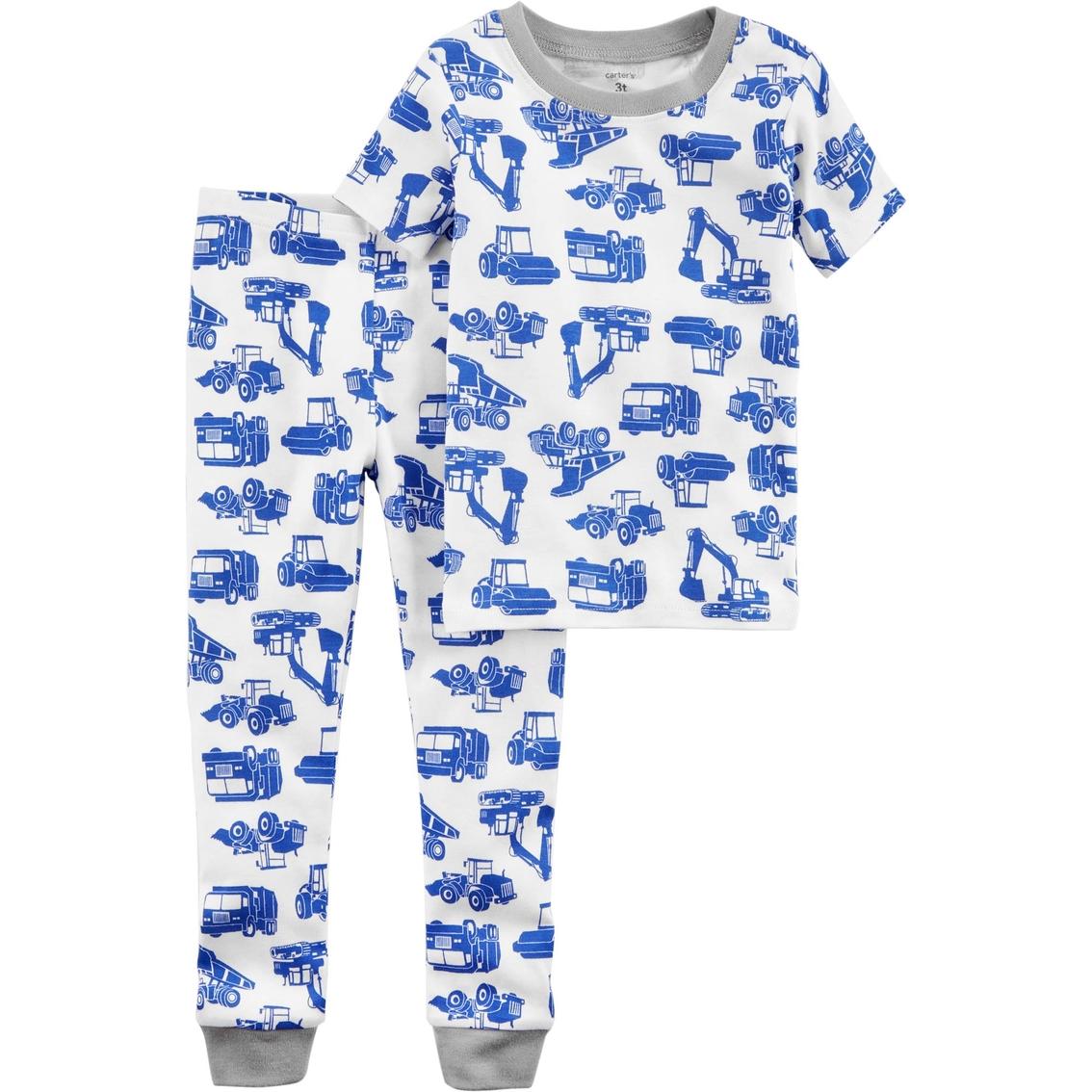 4f243d3bd2aa Carter s Toddler Boy Construction Truck 2 Pc. Pajama Set