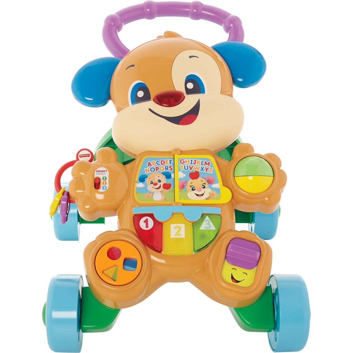 Fisher Price Infant Boys Laughn Learn Puppy Walker Activity