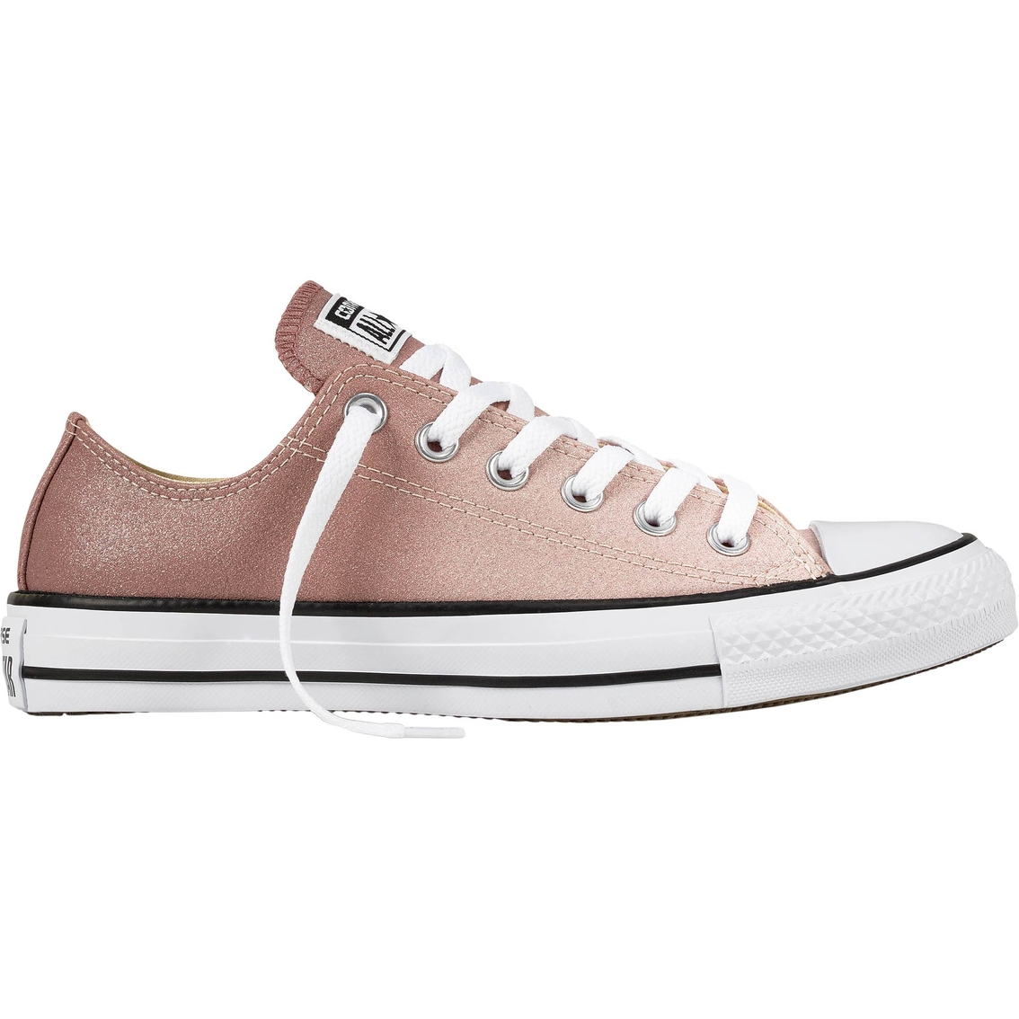 Converse Women's Chuck Taylor All Star Ox Ombre Particle Low Top Sneakers  Beige