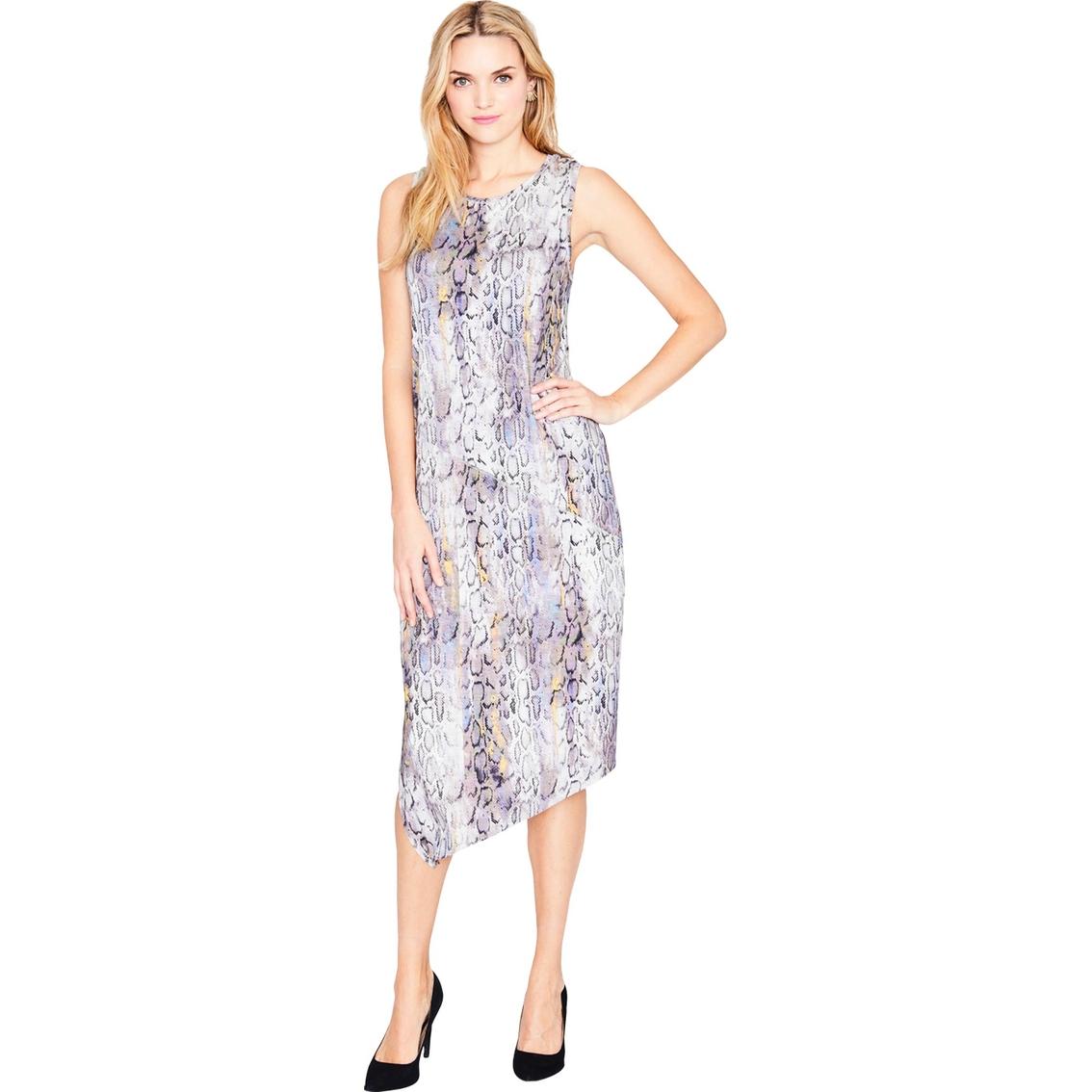 Rachel Roy Discount Gowns: Rachel Roy Printed Drape Back Dress