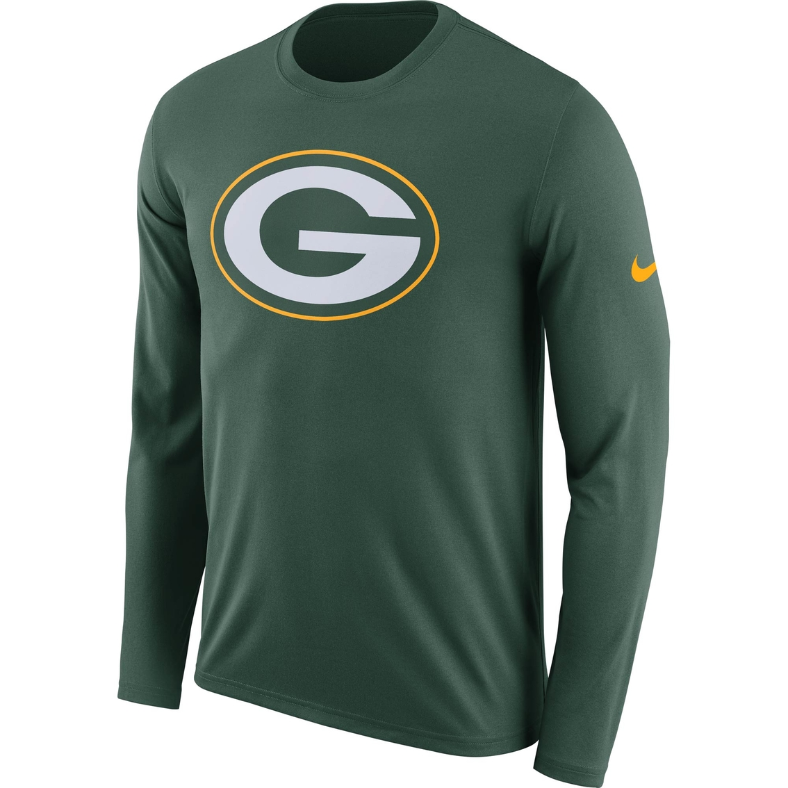 huge discount 57731 7e3a2 Nike Nfl Green Bay Packers Logo Tee | Shirts | Apparel ...