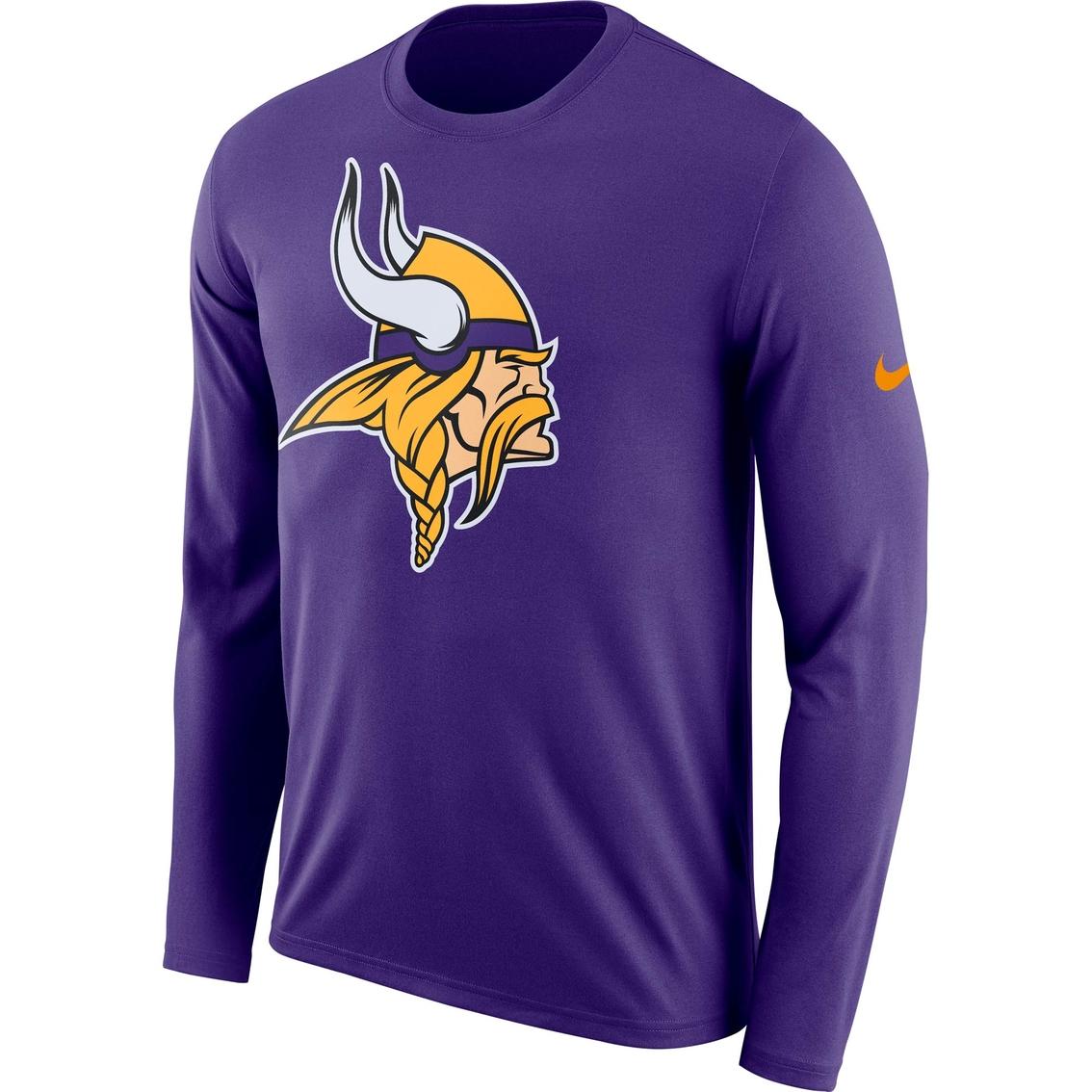 71227a05 Nike Nfl Minnesota Vikings Logo Tee | Shirts | Apparel | Shop The ...