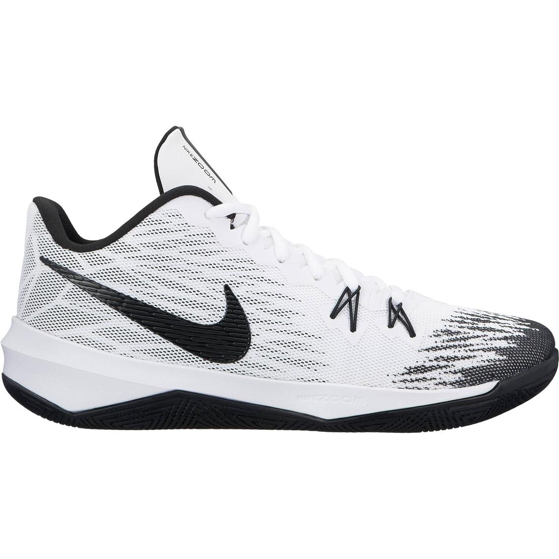 Nike Men's Zoom Evidence Ii Basketball Shoes   Basketball   Back ...