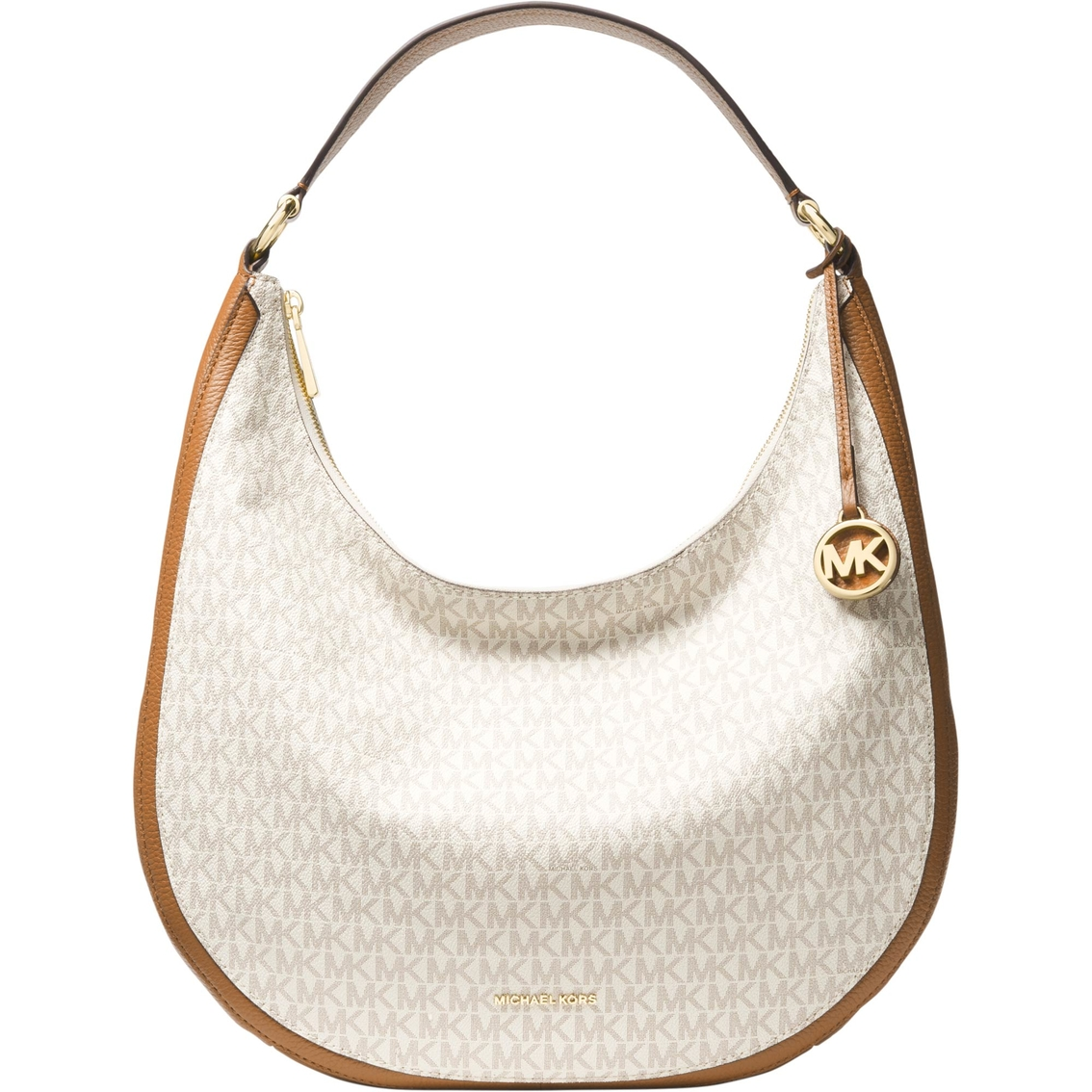 928eeda0f79d Michael Kors Lydia Large Hobo Signature Shoulder Bag