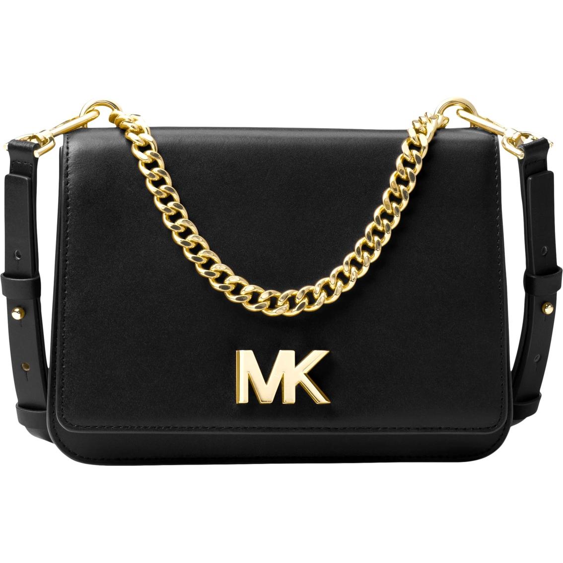 67f38fe5debc Michael Kors Mott Shoulder Bag Leather