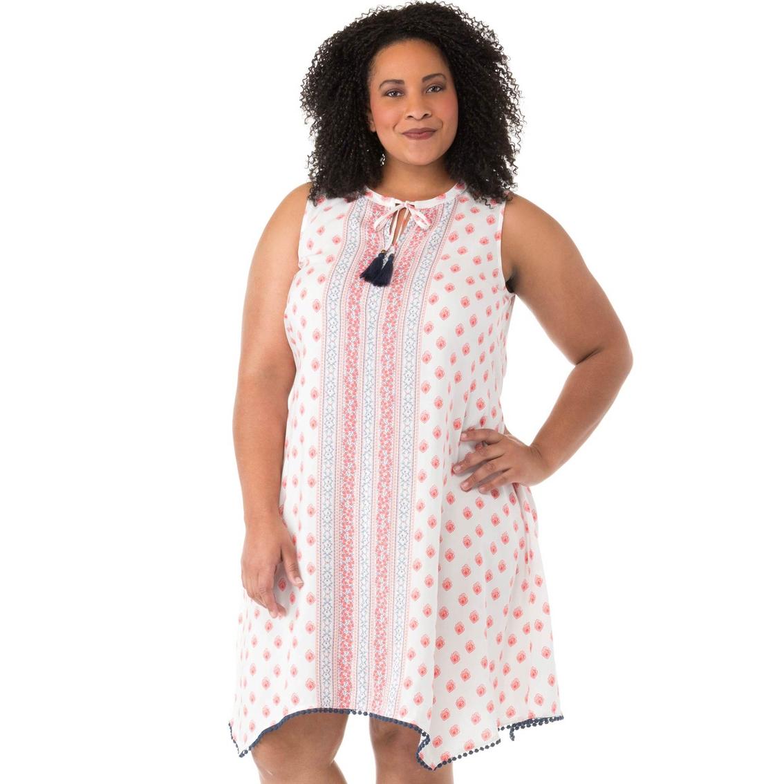 Cherokee Plus Size Handkerchief Hem Dress   Dresses   Apparel   Shop ...