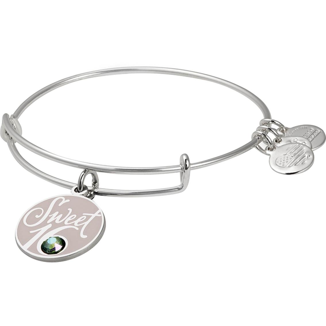 Alex And Ani Sweet 16 Charm Bangle Bracelet