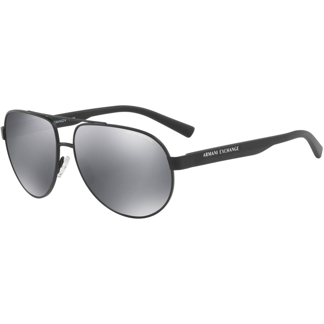 3c65e685b9b85 Armani Exchange Aviator Sunglasses 0ax2022