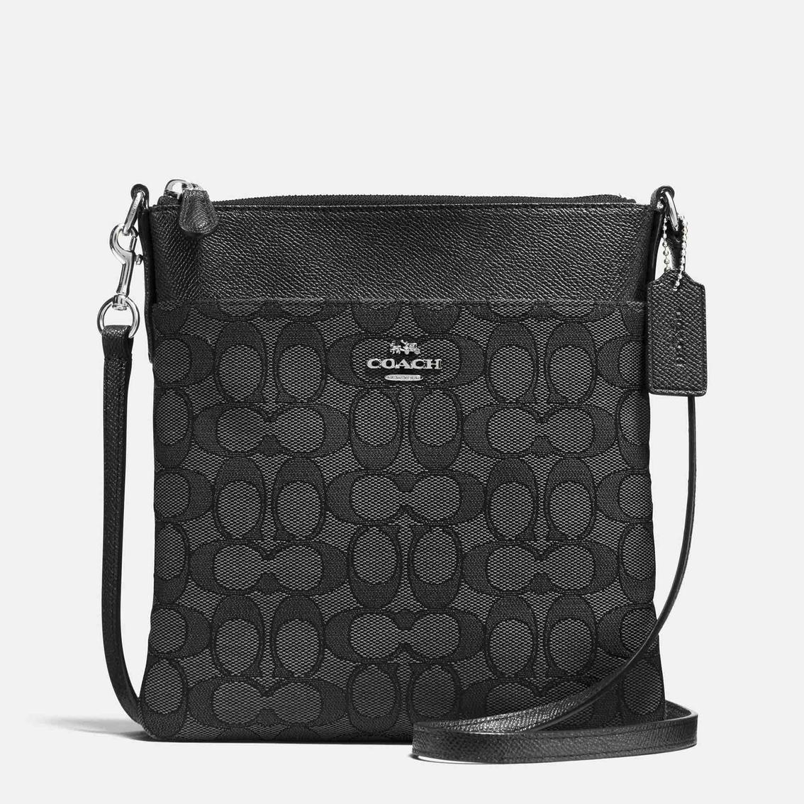 1fc3c570d95 Coach Messenger Signature Jacquard Crossbody Handbag