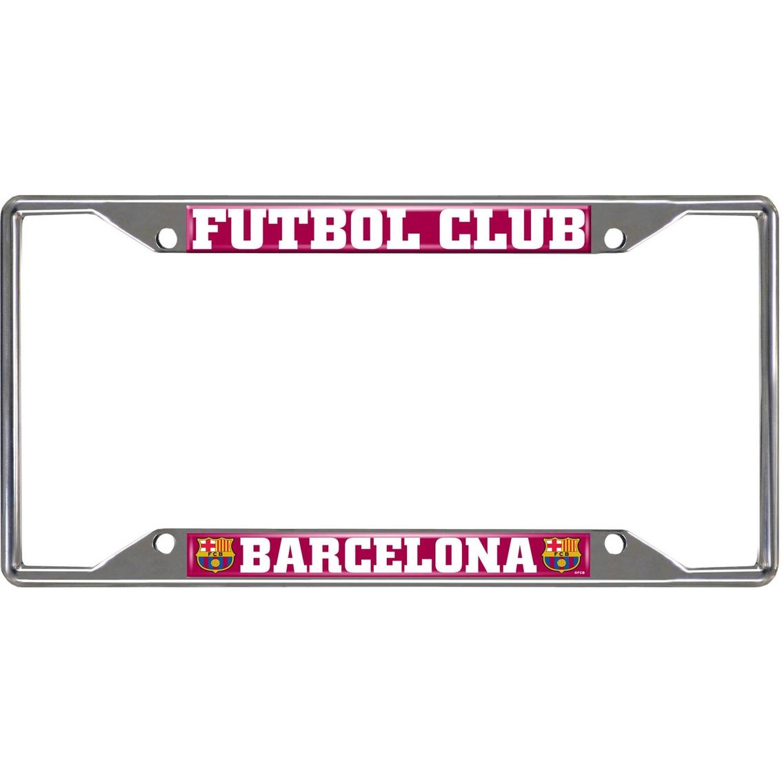 Fan Mats Fc Barcelona License Plate Frame | Exterior Accesories ...