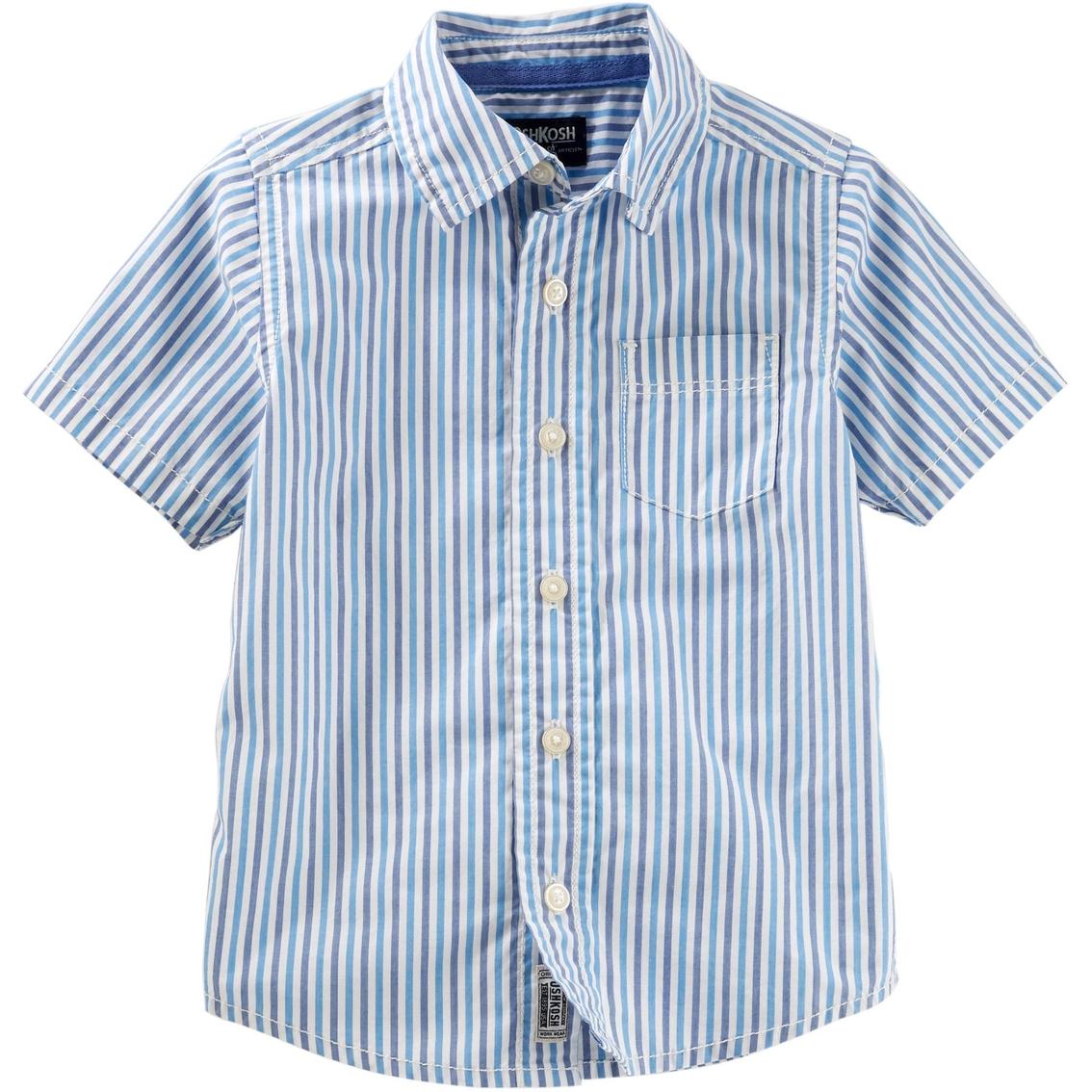 OshKosh BGosh Boys Striped Button Down Shirt
