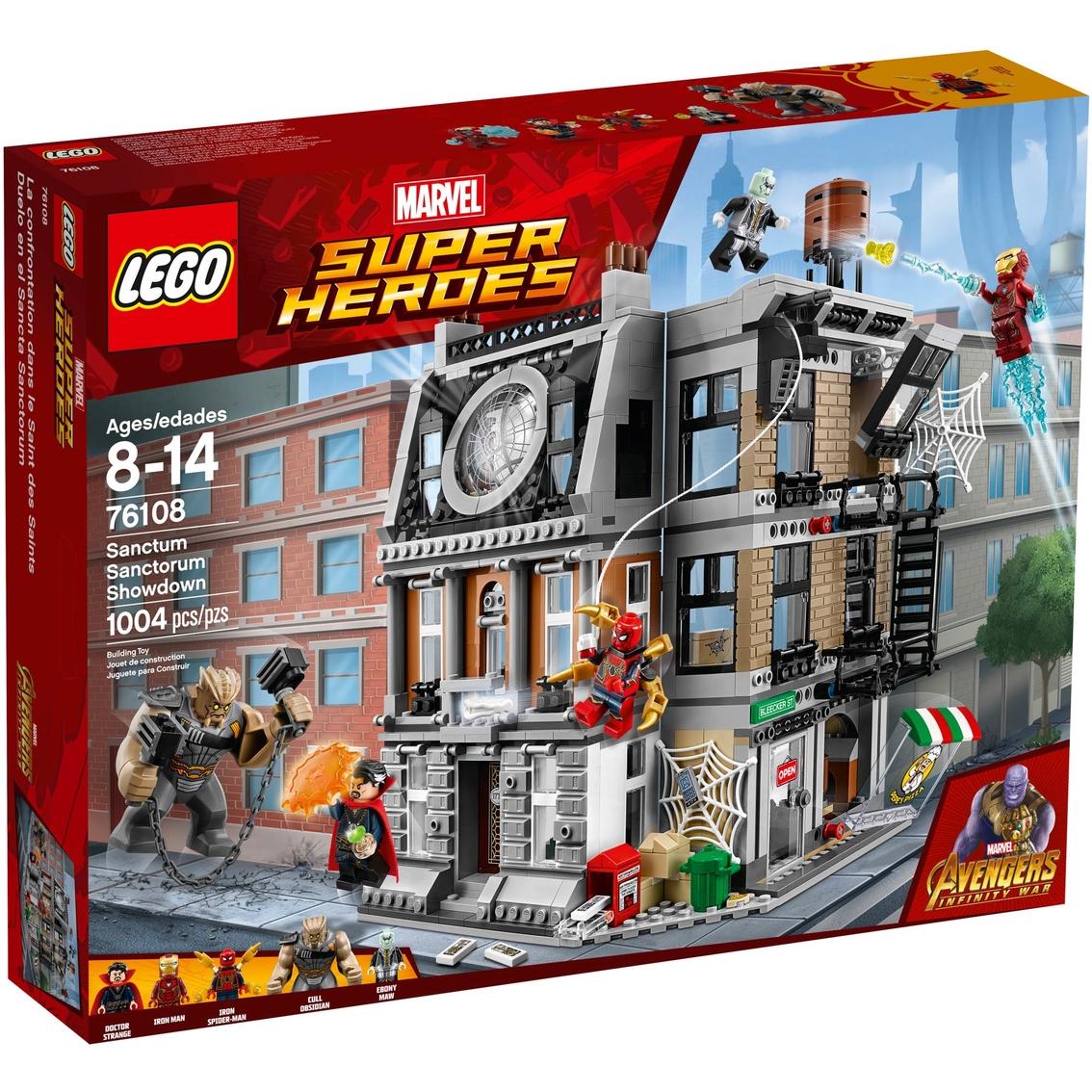 LEGO Marvel Super Heroes Sanctum Sanctorum Showdown 1004 Piece Set for Kids 8-14