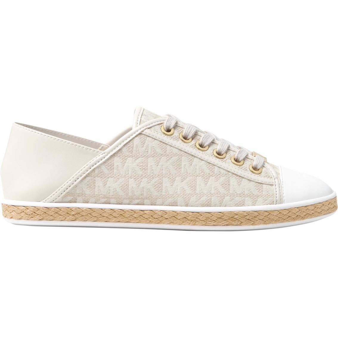e283671fbb3f Michael Kors Signature Jacquard Leather Kristy Sneakers