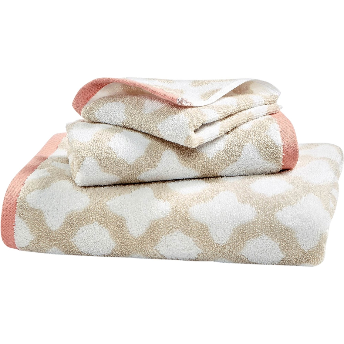 Living Quarters Washcloths: Martha Stewart Collection Cotton Spa Fashion Tile Wash