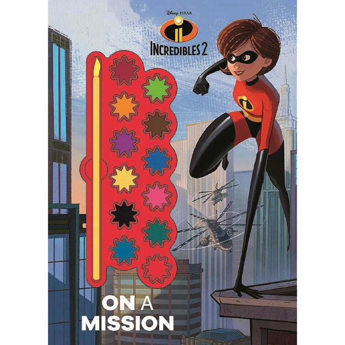 Disney Pixar Incredibles 2 On A Mission Painting Book  57352341d8612