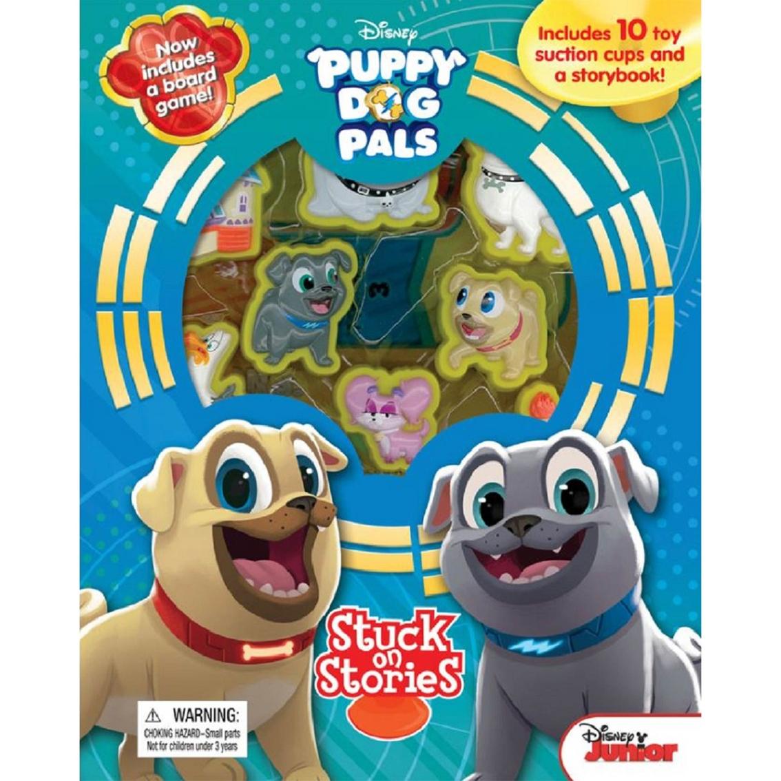 Disney Jr Puppy Dog Pals Stuck On Stories