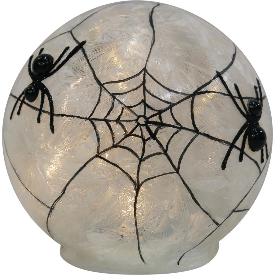 Ice Design Factory Led Lighted Spider Web Ball Decor