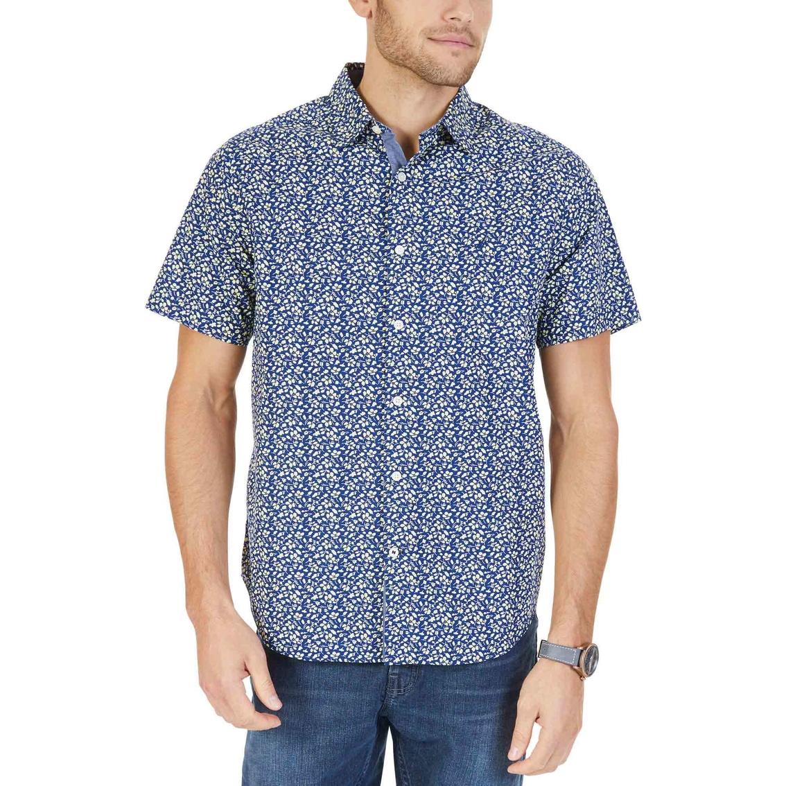 2a5050b2dd670a Nautica Classic Fit Floral Print Shirt   Casual   Apparel   Shop The ...