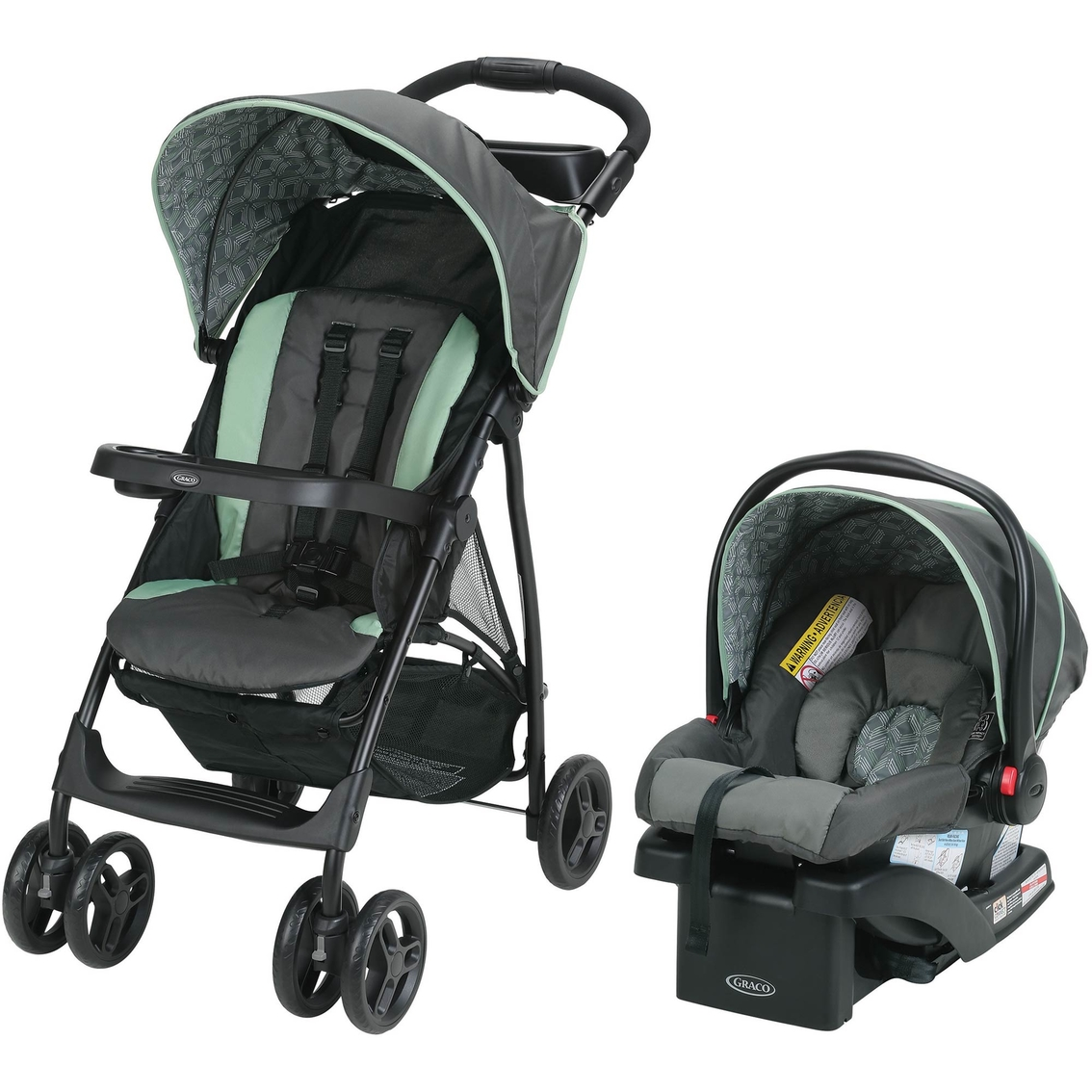 Graco Literider LX Travel System With SnugRide 30 Infant Car Seat