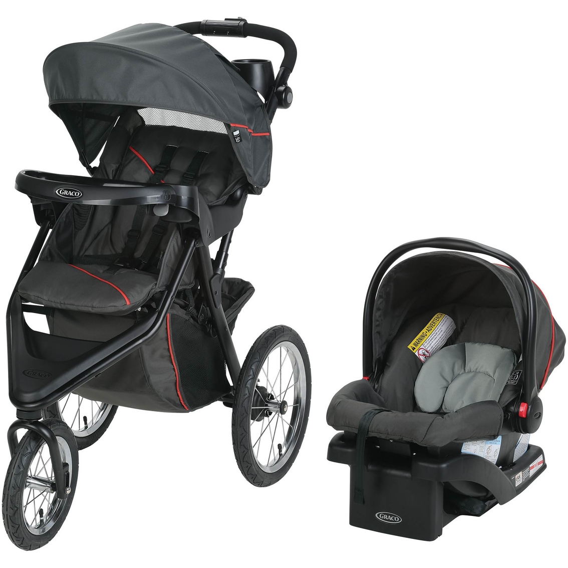 Graco TRAX Jogger Travel System With SnugRide 30 Infant Car Seat