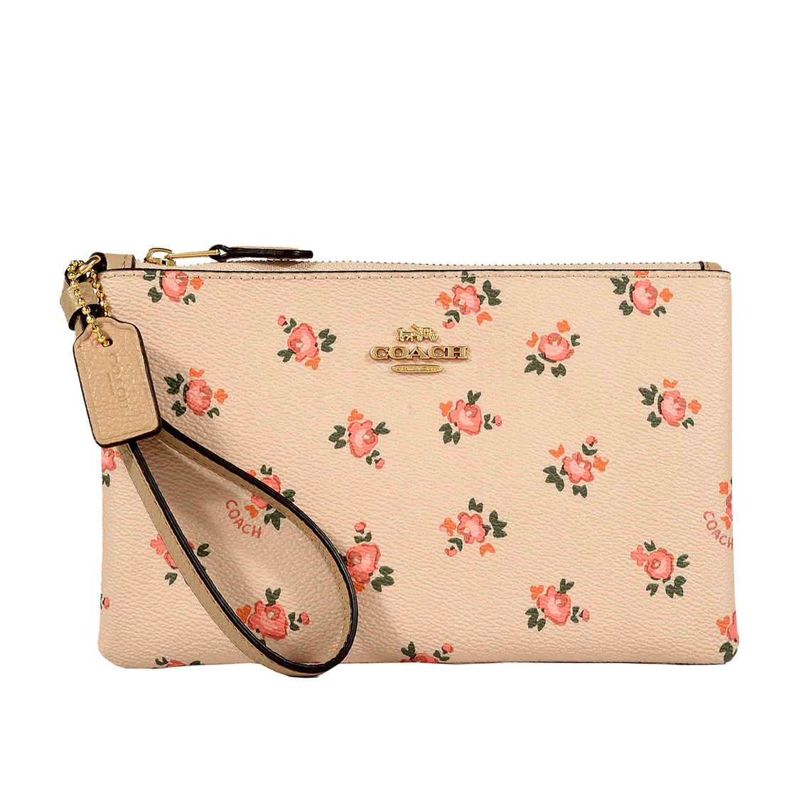 Coach Small Wristlet With Floral Bloom Print   Wristlets, Clutches ... fa2c653bf7