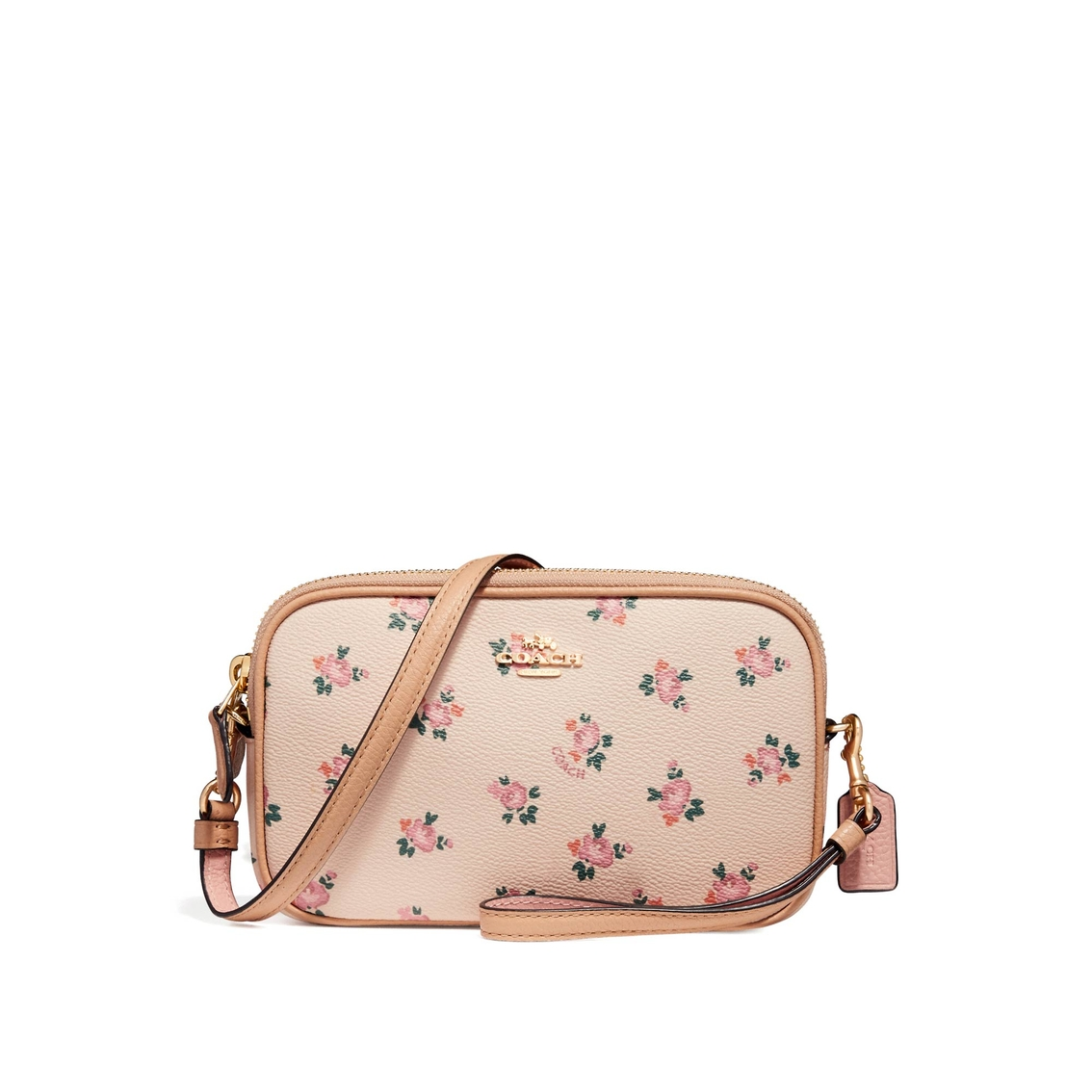 aedc4a958955 Coach Boxed Crossbody Clutch With Floral Bloom Print