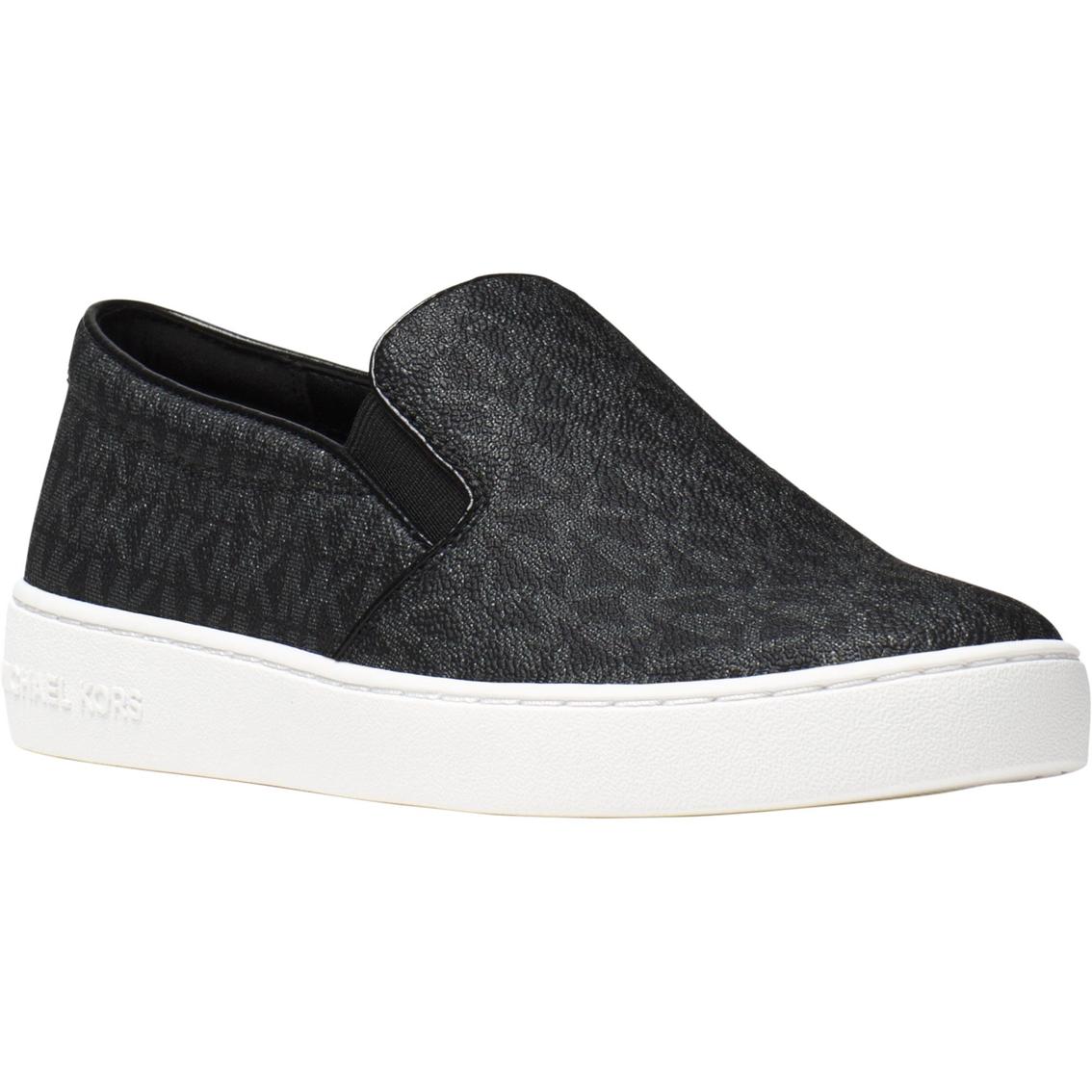 e1ffd13a2cf1 Michael Kors Keaton Canvas Slip On Shoes