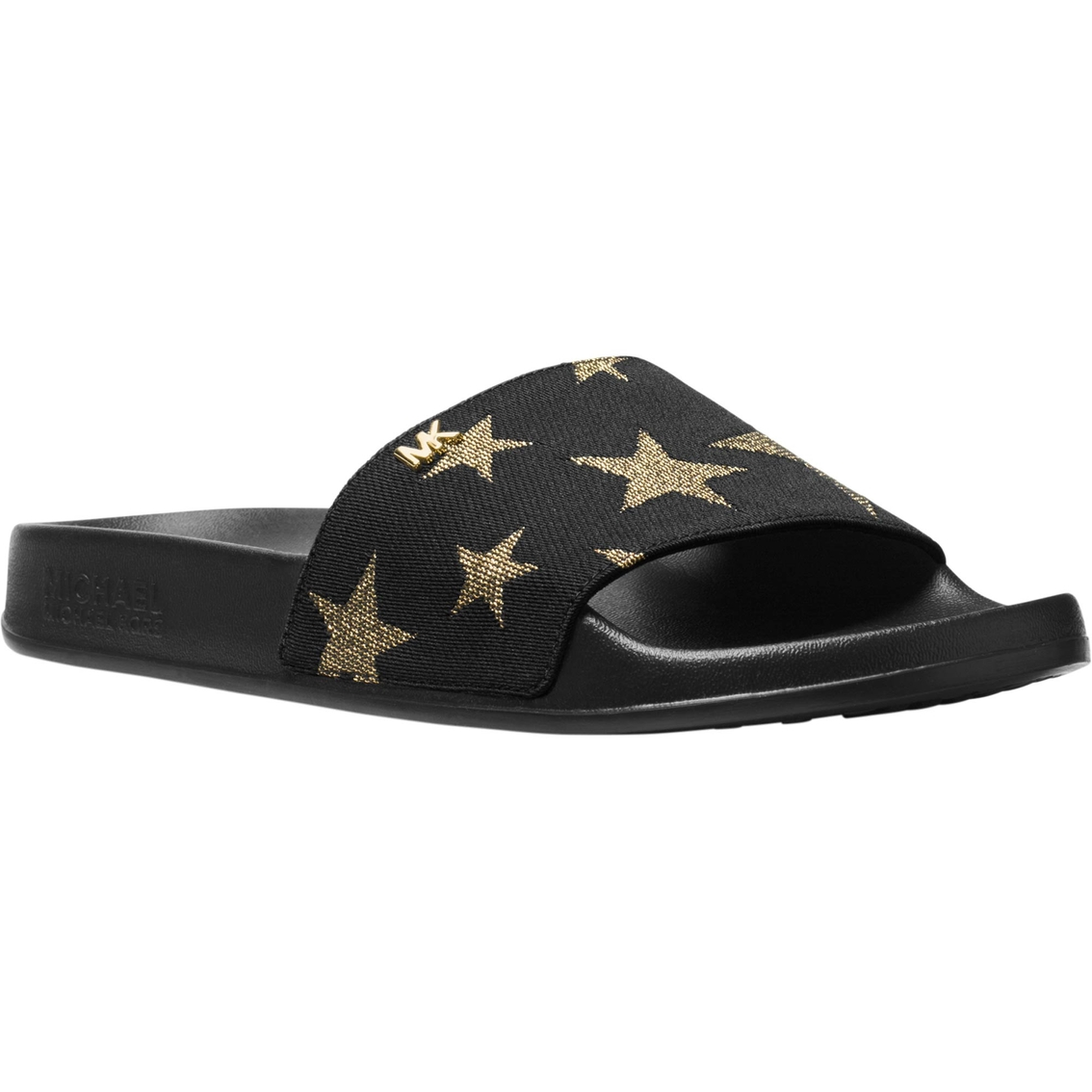 dcc8d26065b8 Michael Kors Sia Slide Sandals