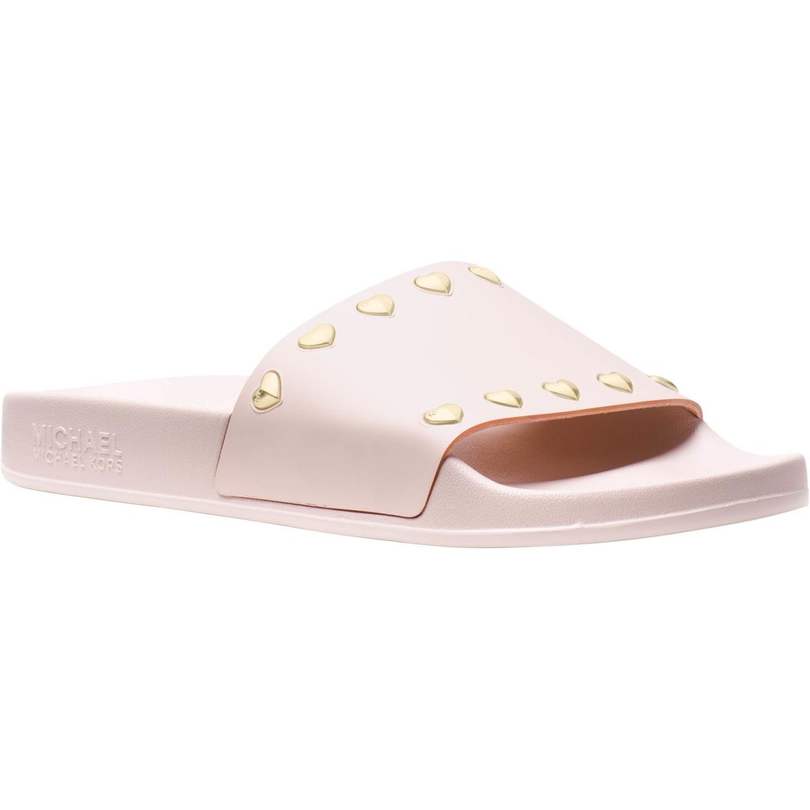 f539fb74a011 Michael Kors Michael Kors Zooey Slide Sandals