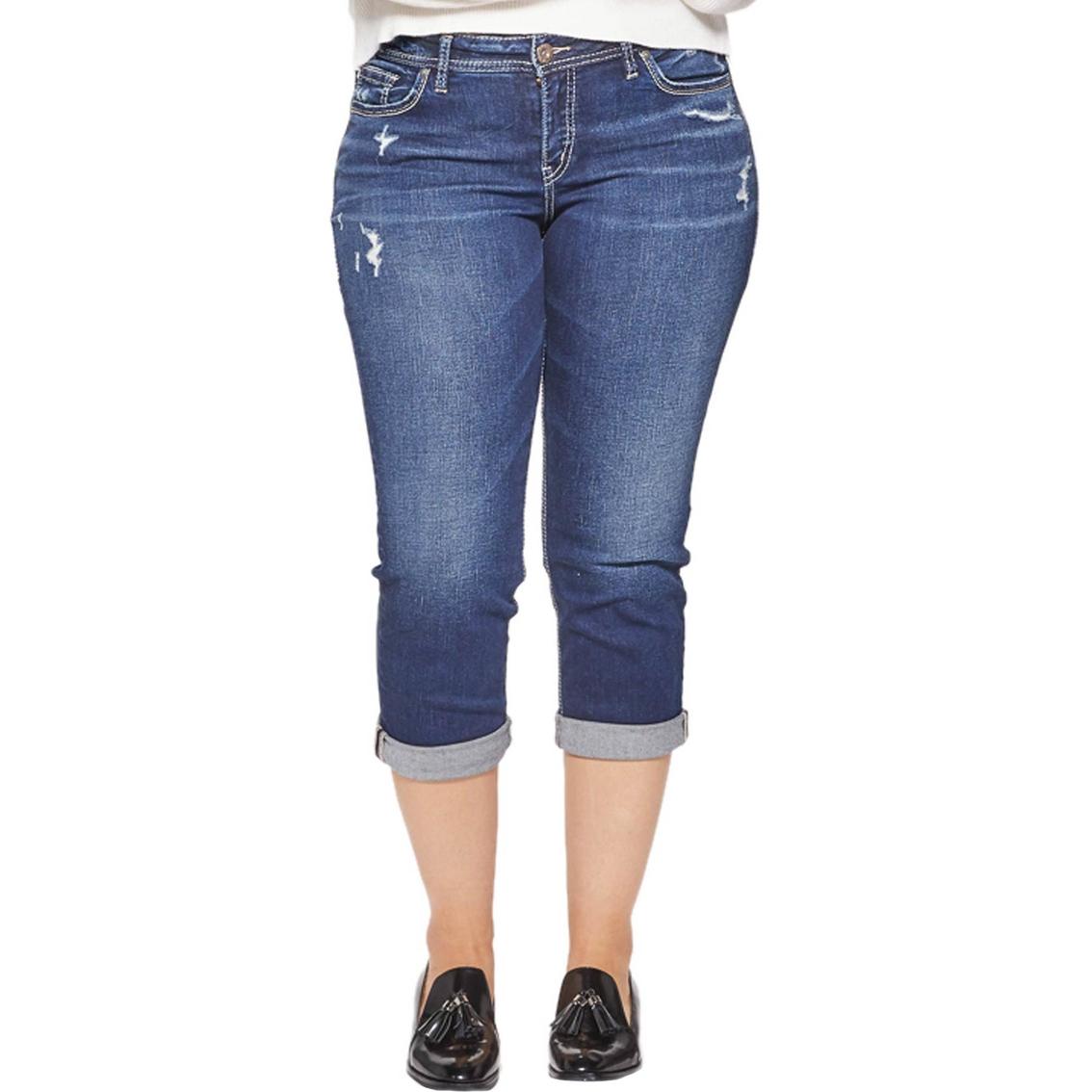 4a0d6d60610 Silver Jeans Co. Plus Size Suki Capri Jeans