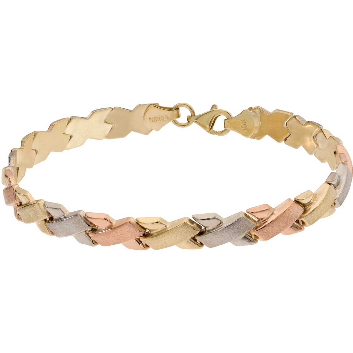 city x bracelet o gold women brick