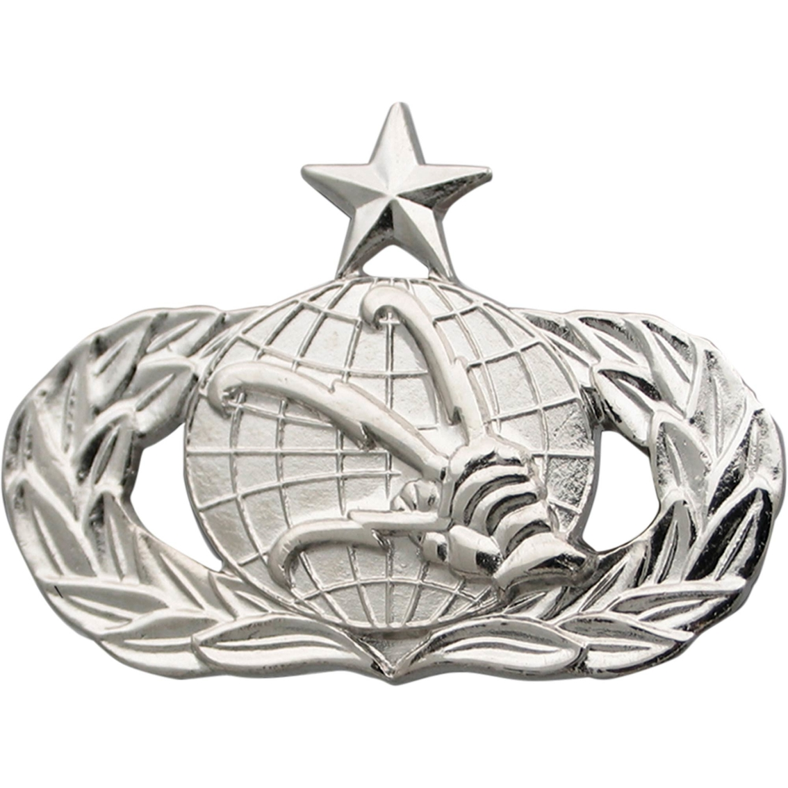 Air Force Senior Communications Badge Mirror Finish