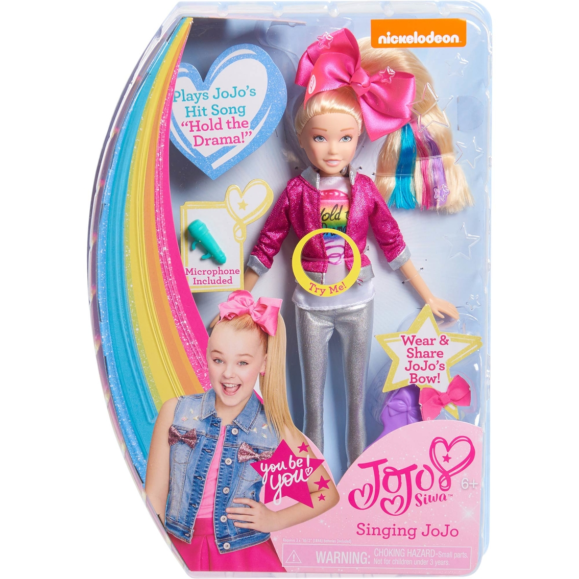 ccd0fe56cb8f Just Play 10 In. Jojo Siwa Singing Doll