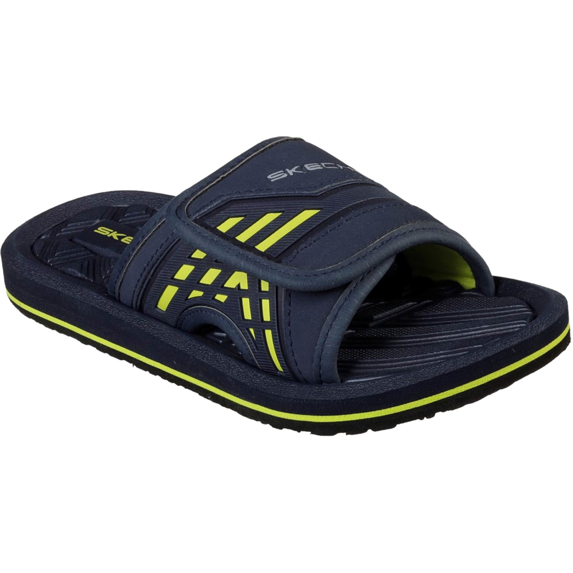 Skechers Boys Solar Rush Slide Sandals Sandals Shoes