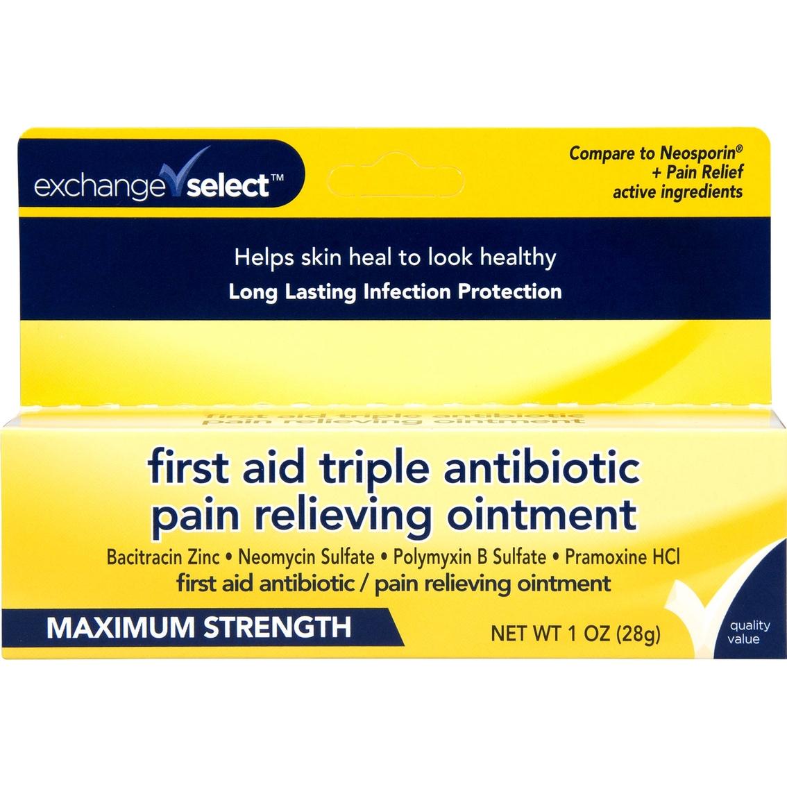 Exchange Select 1 Oz  First Aid Triple Antibiotic Pain