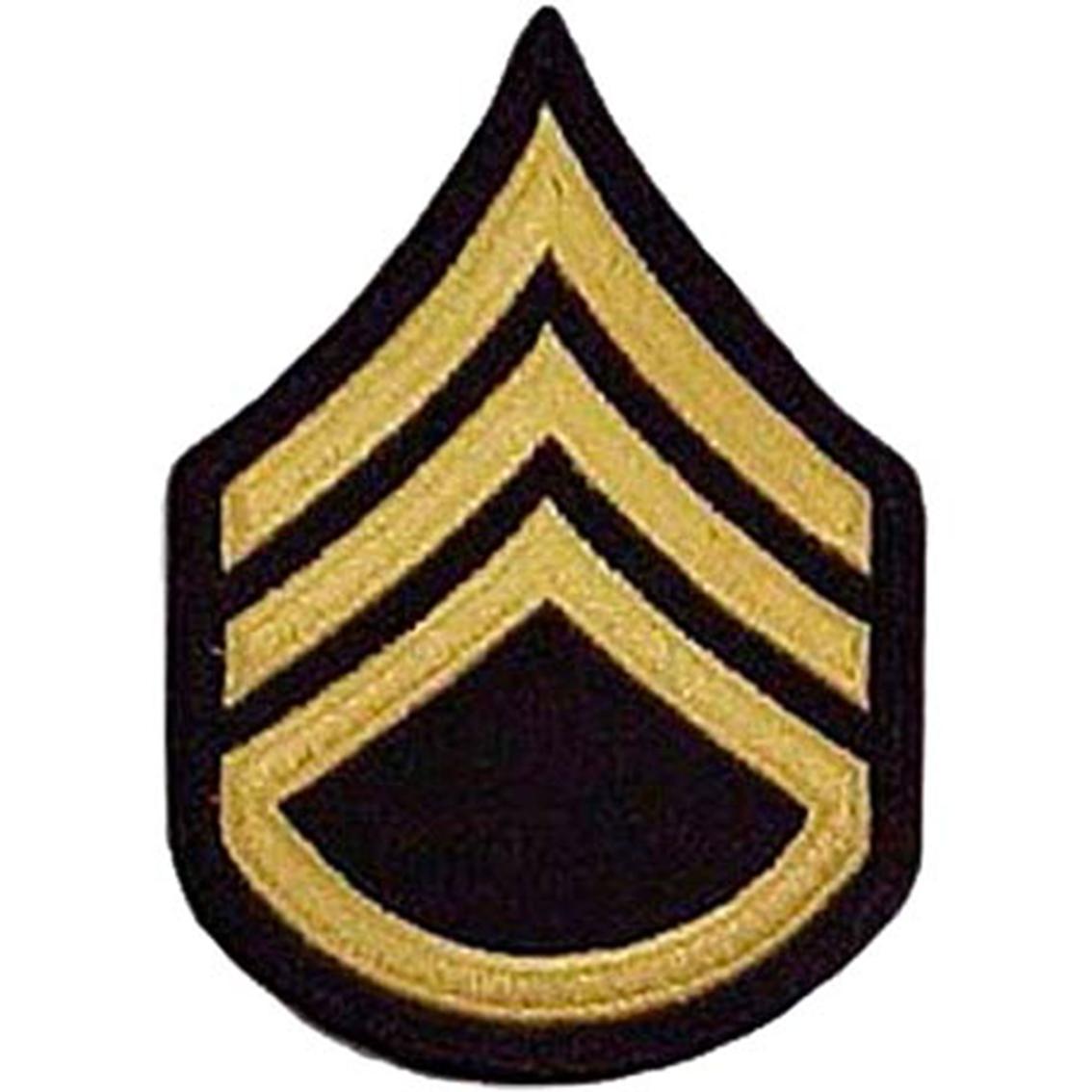 Army Rank Ssg Small Asu Sew-on | Small Asu Rank | Military | Shop